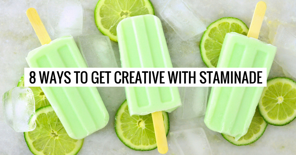 8 Ways to Get Creative with Staminade