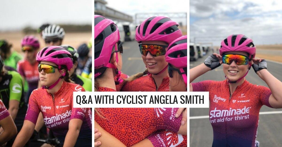 b04fa21ee Q A with Angela Smith - Sydney Uni Women s Cycling Team - Staminade