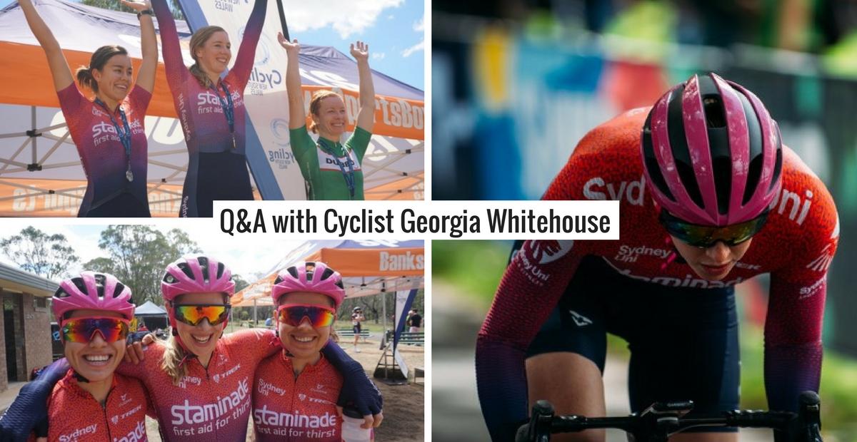 Q&A with Georgia Whitehouse – Sydney Uni Women's Cycling Team
