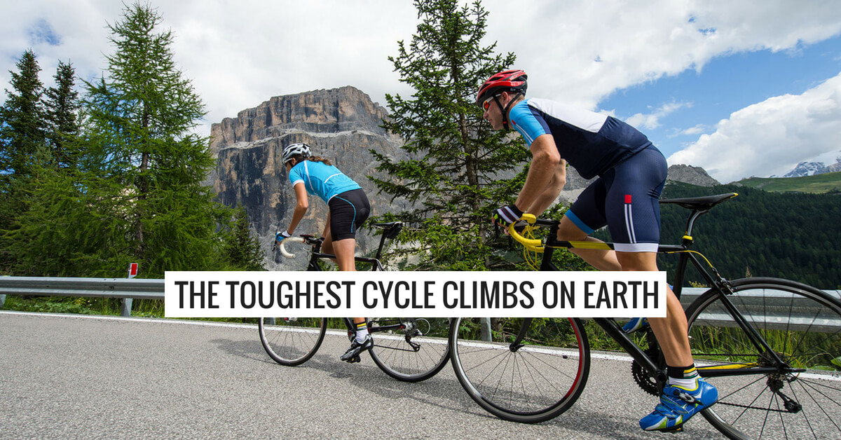 The Toughest Cycle Climbs On Earth