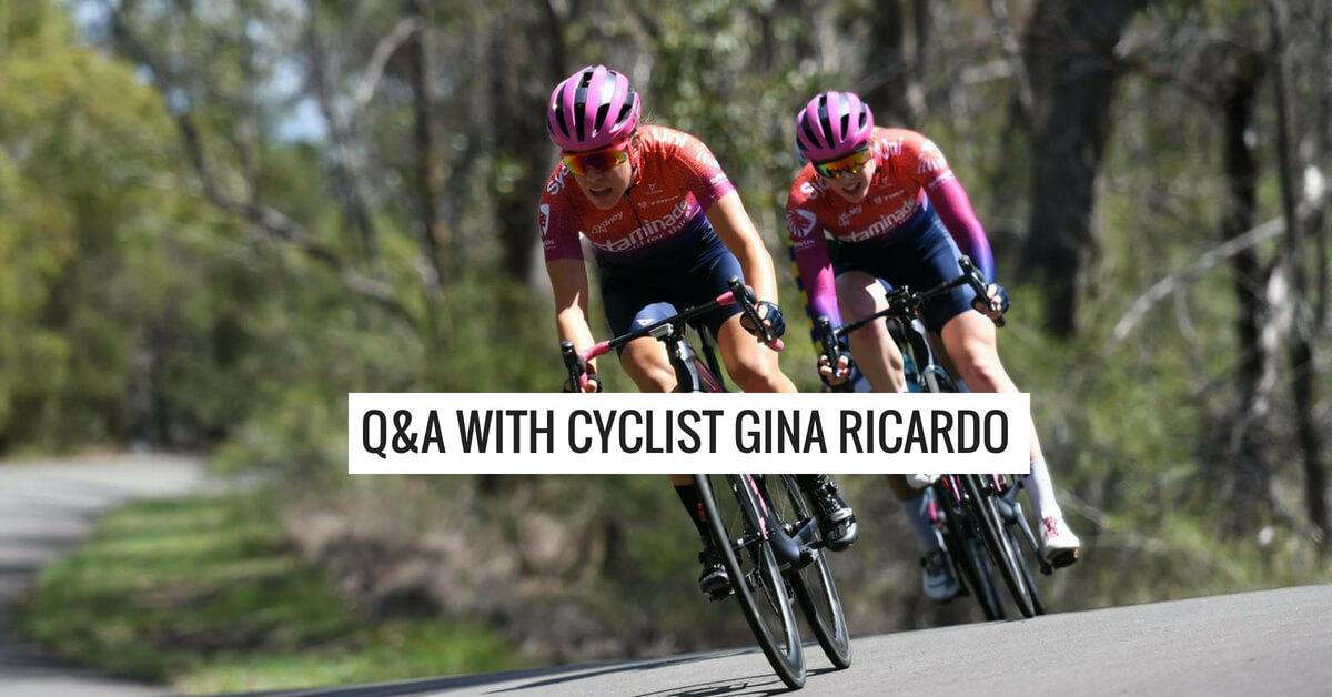 Q&A with Gina Ricardo – Sydney Uni Women's Cycling Team
