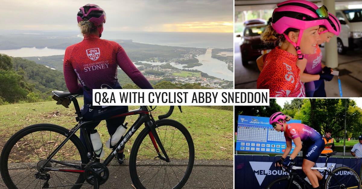 Q&A with Abby Sneddon – Sydney Uni Women's Cycling Team