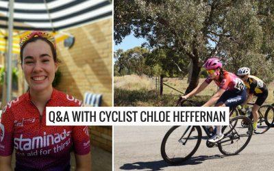 Q&A with Chloe Heffernan – Sydney Uni Womens Cycling Team
