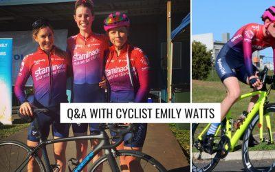 Q&A with Emily Watts – Sydney Uni Women's Cycling Team