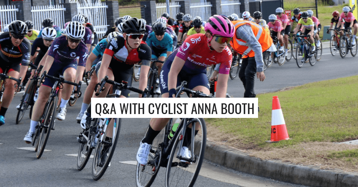 Q&A with Anna Booth – Sydney Uni Women's Cycling Team