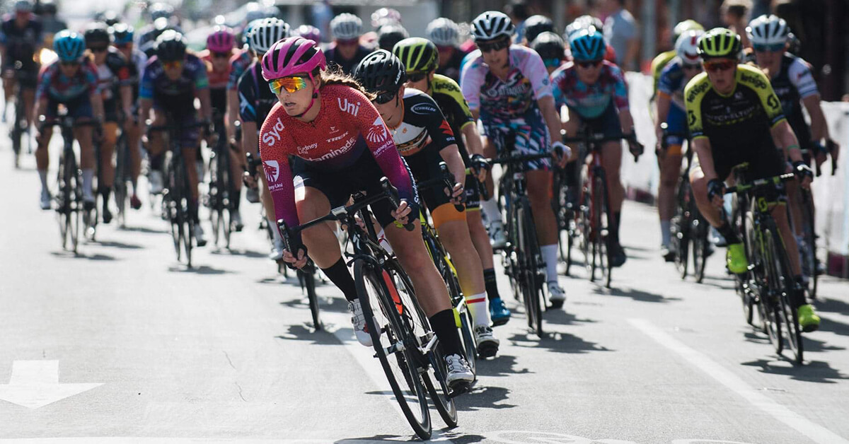 Q&A with Jen Darmody – Sydney Uni Women's Cycling Team
