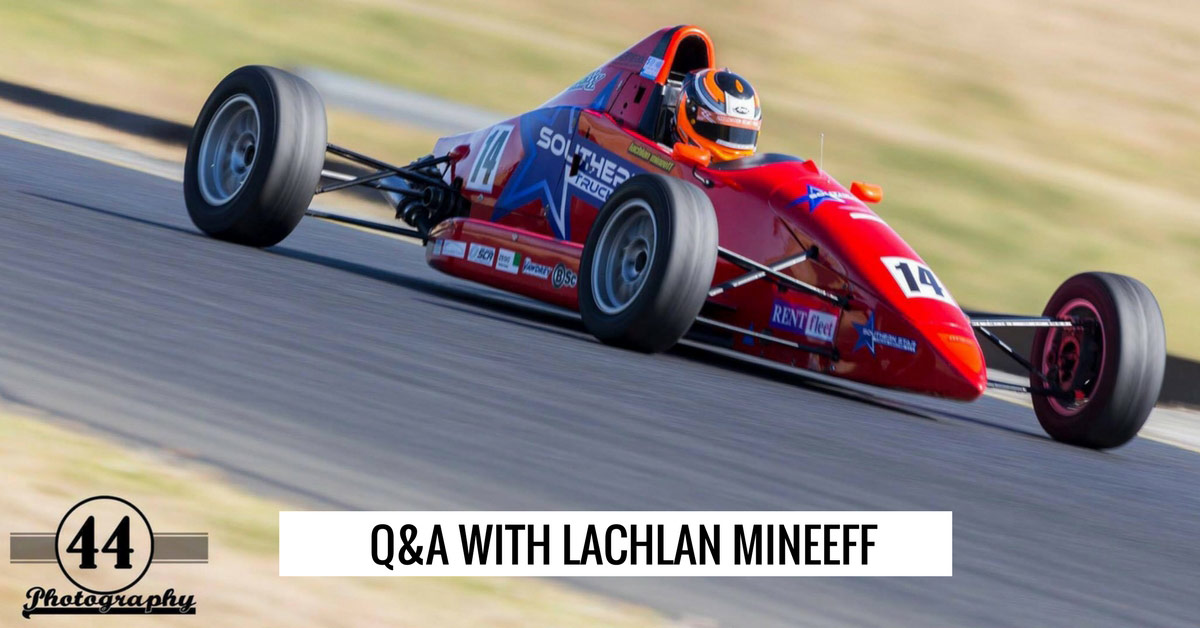 Q & A with Lachlan Mineeff