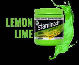 staminade sports drink powder lemon lime flavour