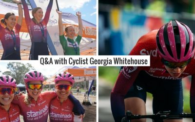 Q&A with Georgia Whitehouse – Sydney Uni Women's Cycling Team