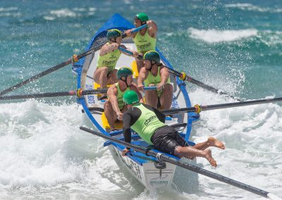 surf boat rowing team