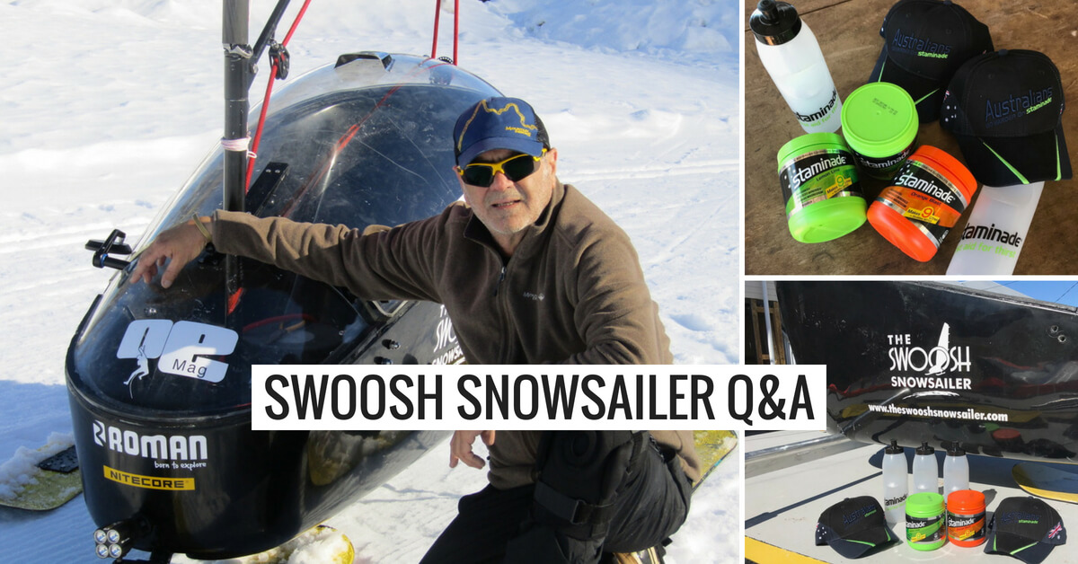 Q&A with Charles Werb & Adrian Manikas – Snow Sailing
