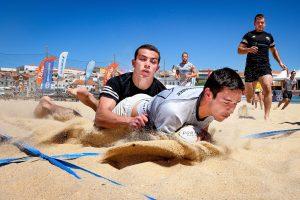 staminade beach rugby