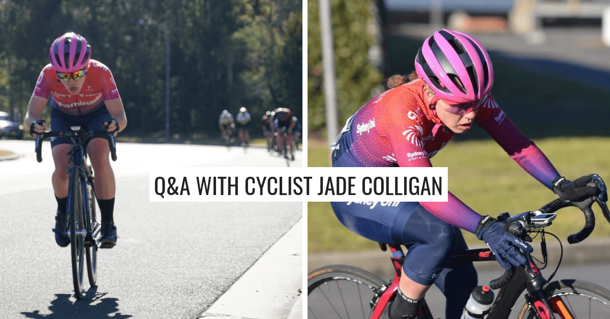 Q&A with Jade Colligan – Sydney Uni Women's Cycling Team
