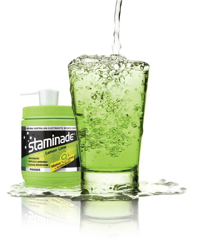 Lemon Lime Staminade sports powder drink