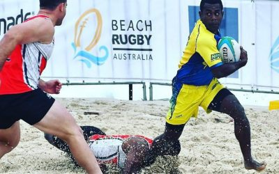 Why You'll Get Hooked on Beach Rugby
