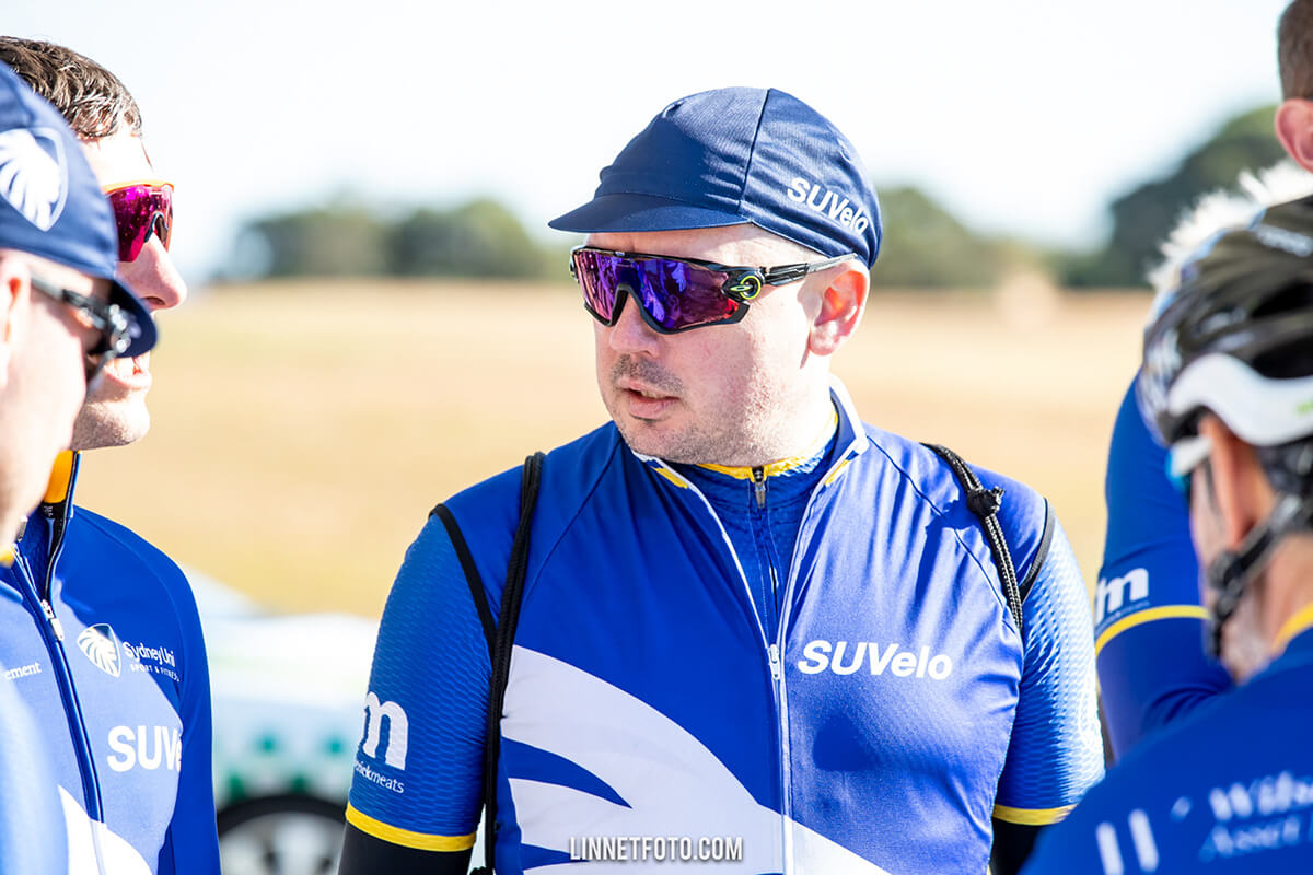 Sydney Uni Velo cyclist Brett McLeod