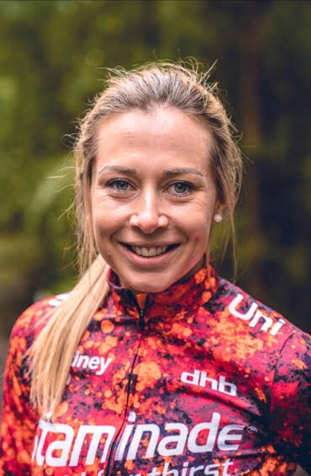 sydney uni - staminade cyclist nicole frain