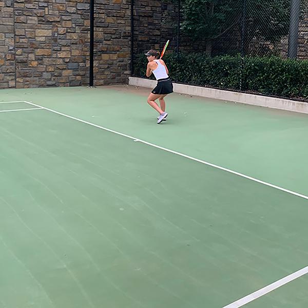 Australian tennis player Kelsey Lewis