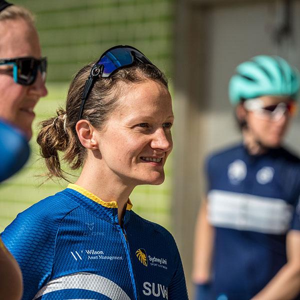 Sydney Uni Velo cyclist Aimee Armstrong