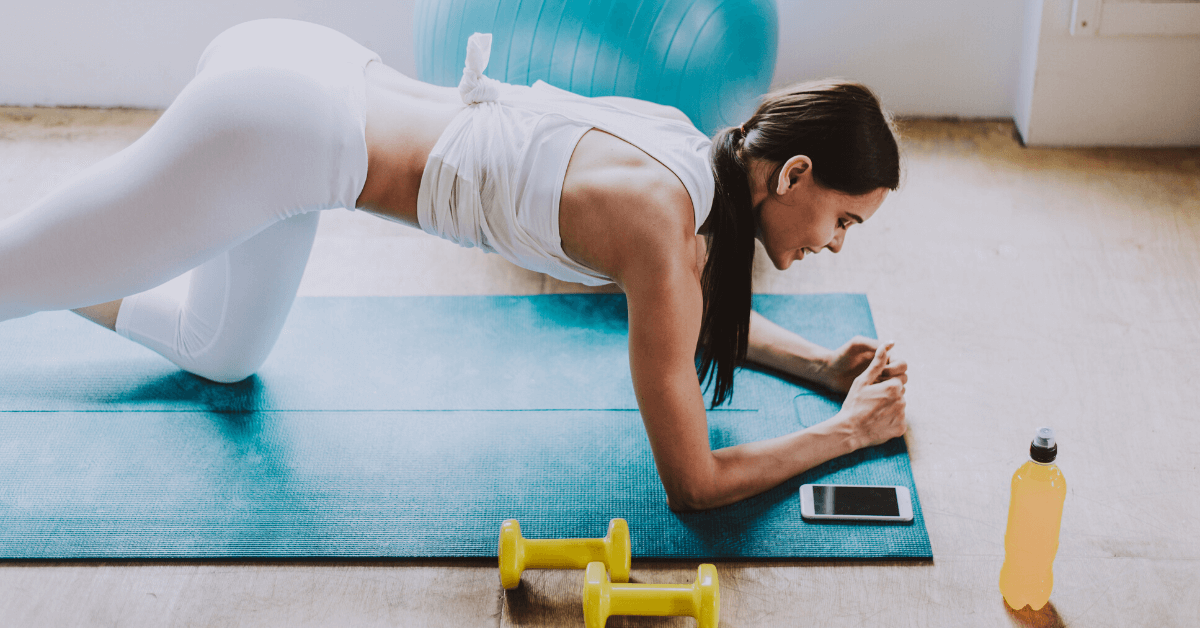 10 Ways to Exercise at Home