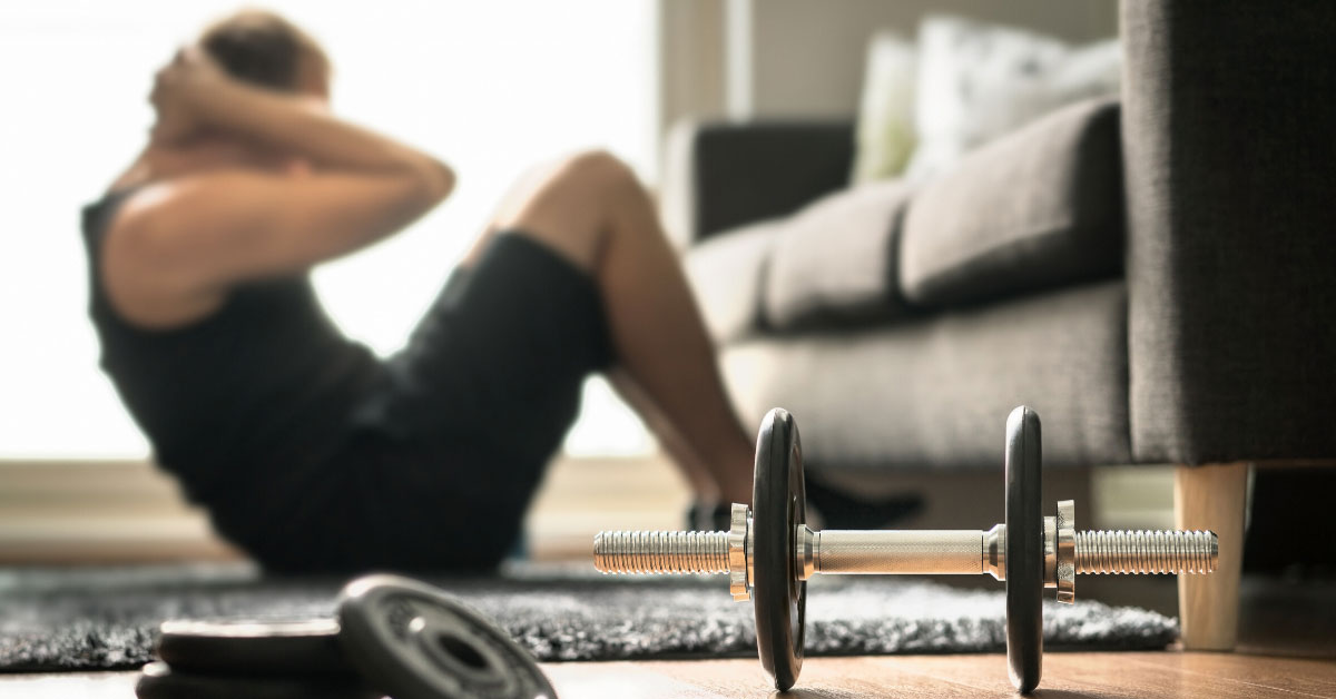 Stay Home Exercise Tips