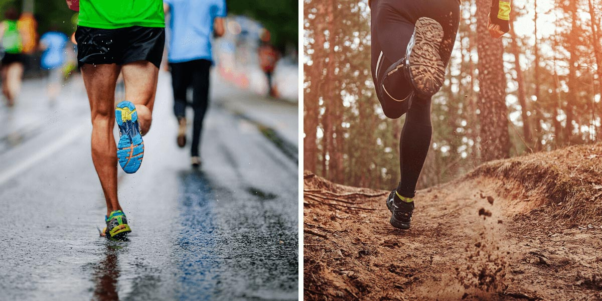 Road Running vs Trail Running