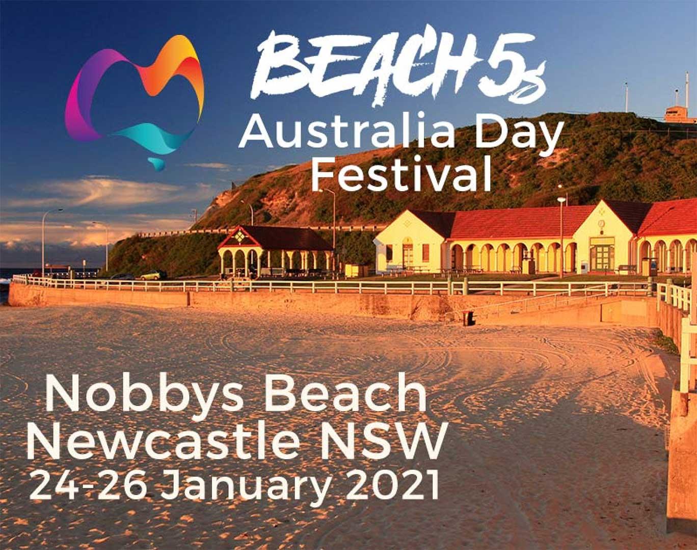 beach 5s rugby Australia Day Festival 2021