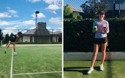 Kelsey Lewis Rising in Tennis Ranking