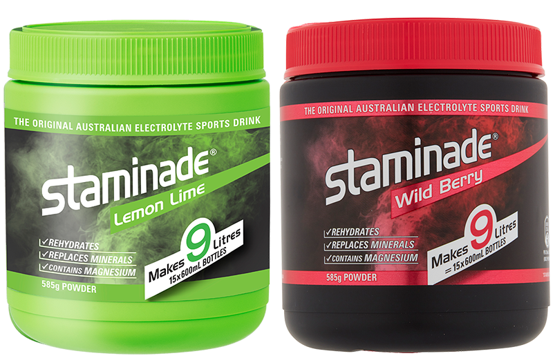 staminade lemon lime and wild berry tubs