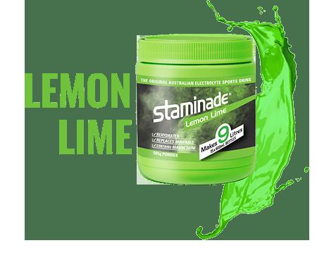 staminade tub lemon lime flavour