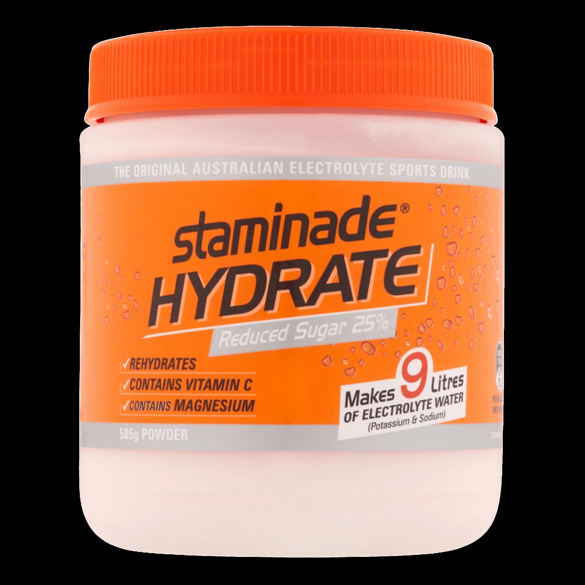 Staminade Hydrate Orange 25% Reduced Sugar*