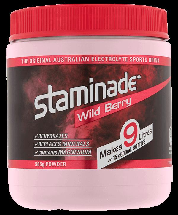 Staminade Wild Berry Sports Drink Powder Tub